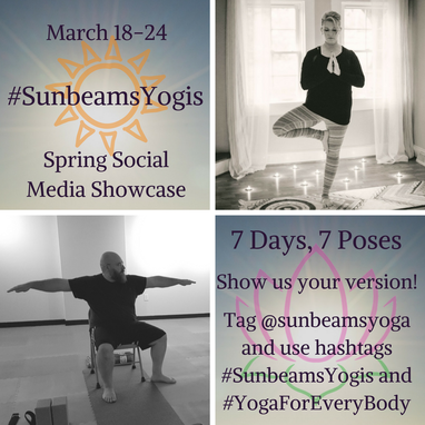 #SunbeamsYogis Spring Social Media Showcase